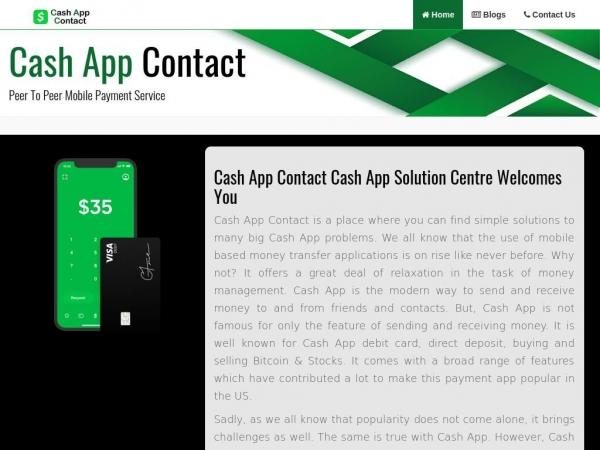 cashappscontact.com