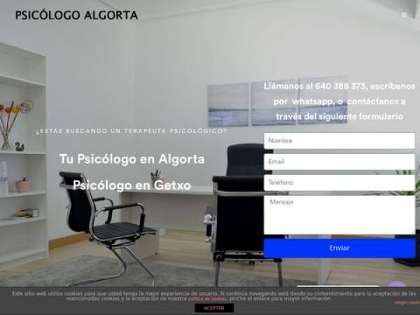 psicologoalgorta.com