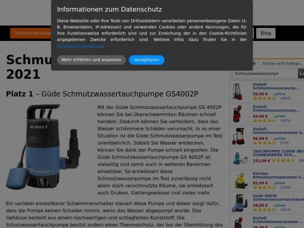 schmutzwasserpumpe.info